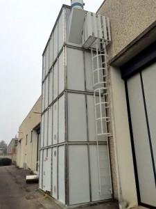 Impianto aspirazione a silos Mapelli Hp 20