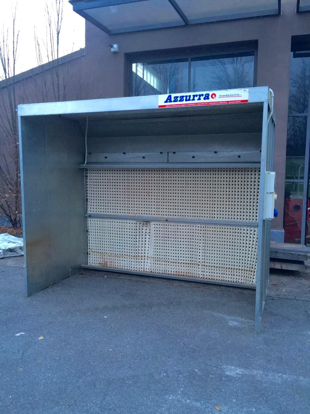 Cabine di verniciatura mazzoleni macchine for Cabine di tnstateparks com