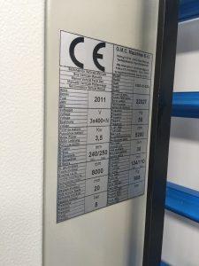 sezionatrice verticale GMC automatica