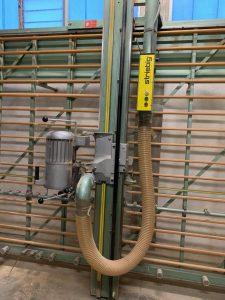 Sezionatrice verticale Striebig 1