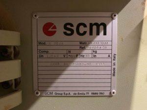 bordatrice scm usata